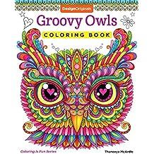 Groovy Owls Coloring Book (Coloring Is Fun) (Design Originals)