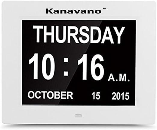 KanavanoVersión actualizada Reloj digital de pared - Reloj ...