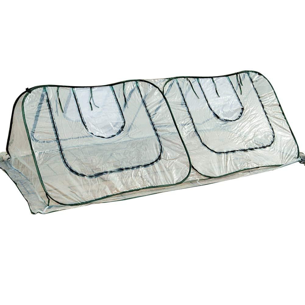 LIANGLIANG 温室フラワースタンド用 ガーデニング透明保温防風防風不凍液通気性スクリーン窓ジッパーデザイン引き裂き抵抗プラスチック耐久性 (色 : クリア, サイズ さいず : 244x122x81M) B07M6QQ5R7 クリア 244x122x81M