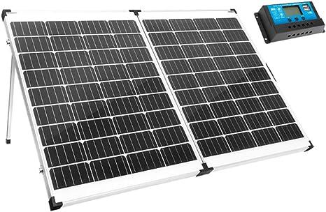 SWTY Kit de Carga Placa Solar Plegable portátil de 250 W y 12 ...