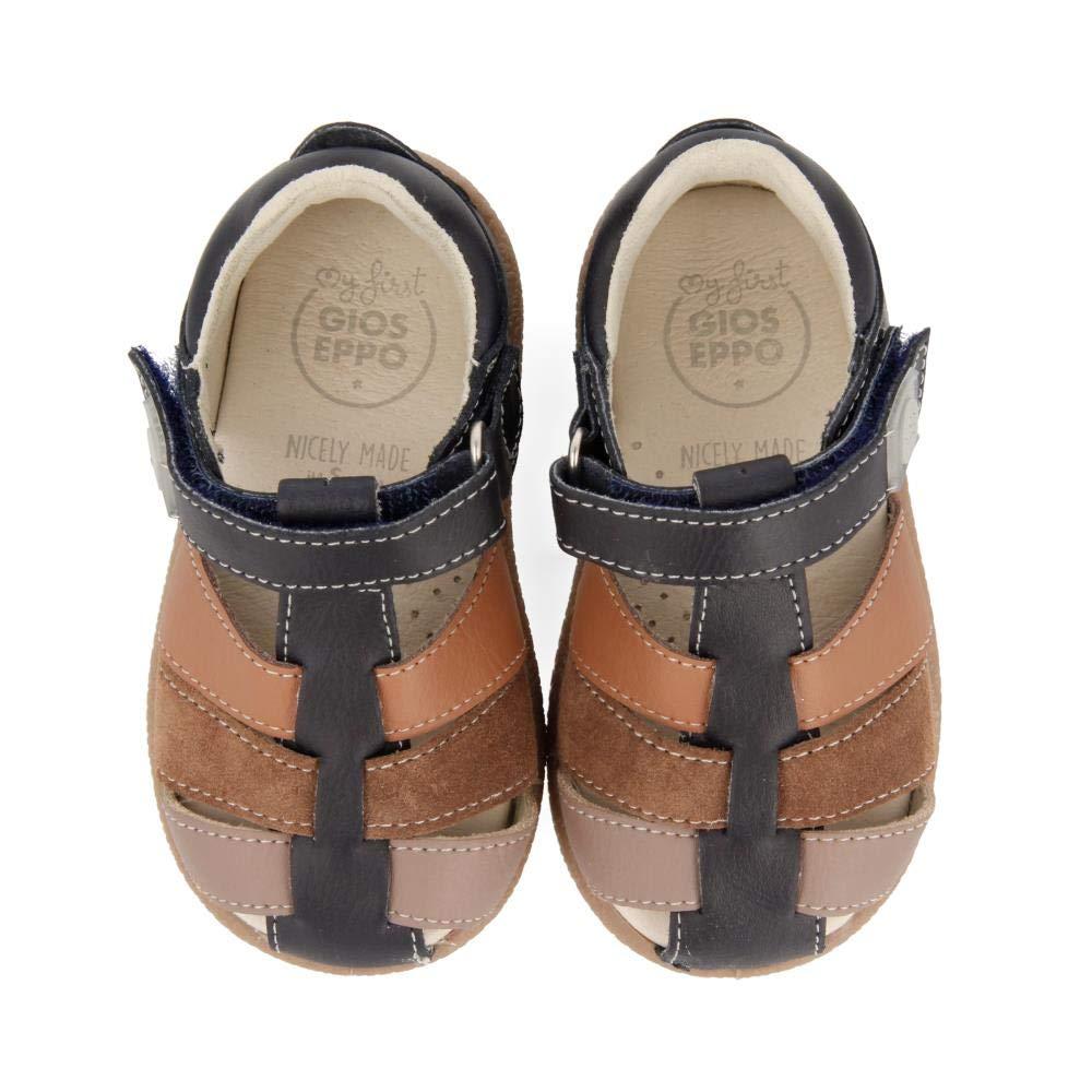 GIOSEPPO Baby Jungen 48140 Sandalen Marineblau//braun