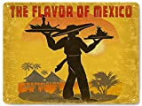 Mexican restaurant food METAL sign / Mexico resort vintage style diner deli wall decor art 0271