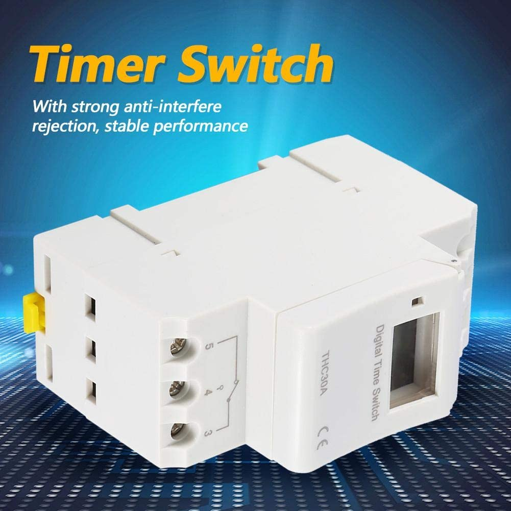 7 day Digital LCD Plug in Timer Switch Extension 3 Gang