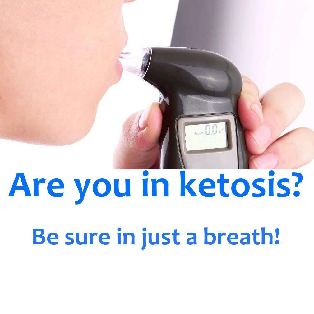 Ketone breath analyzer