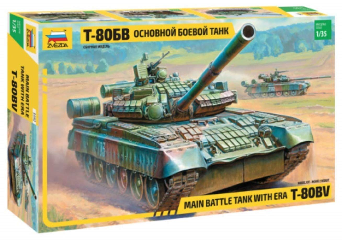 Zvezda - Maqueta de Tanque Escala 1:35 (Z3592): Amazon.es ...