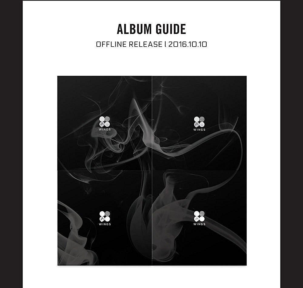BTS - WINGS (Vol.2) [Random Ver.] [CD+96p Photo book+1 Polaroid Photo card+1 Sticker]