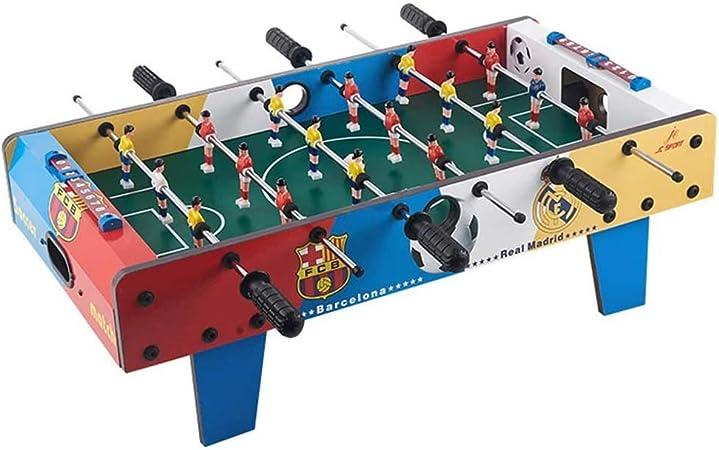 Participar Juegos Padres Hijos 6 Filas Adulto Futbolín Juego de Mesa de Madera Baby Foot Infantil para Niños Fútbolista Deporte Patada de Mesa Mesa de Fútbol Futbolín Juego: Amazon.es: Hogar
