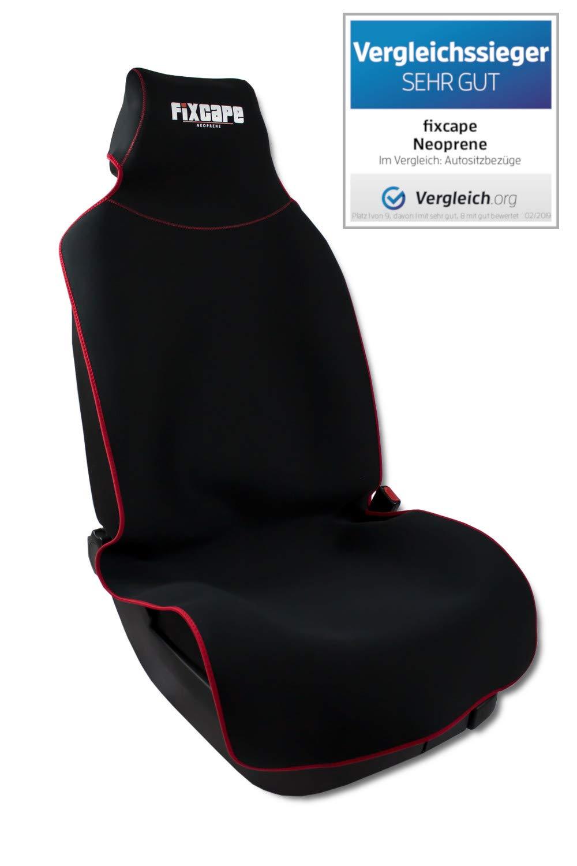 2 vordere Auto Sitzbezug Sitzbezüge Schonbezüge Einteilig Rot für Opel Renault