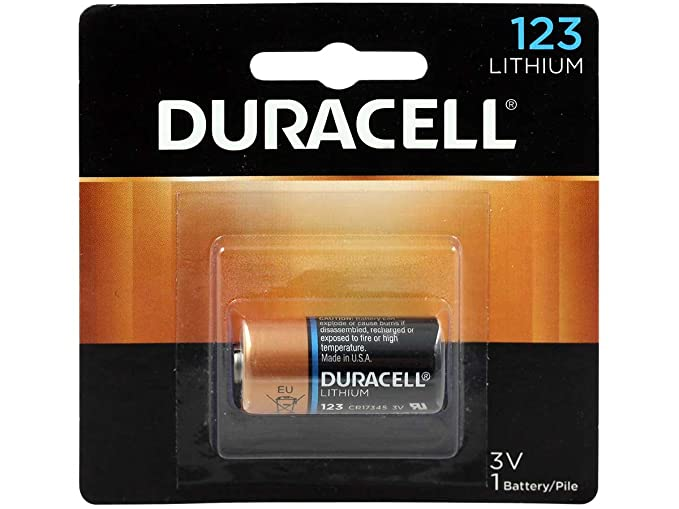 Amazon.com: Duracell DL123 Ultra Lithium Photo, 13 de ...