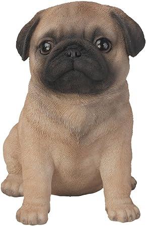 Pug Puppy Dog Ornament//Figurine By Vivid Arts