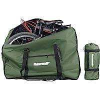 """Selighting Fietstas draagtas fiets transport opbergtas voor 20"""" vouwfiets (groen)"""