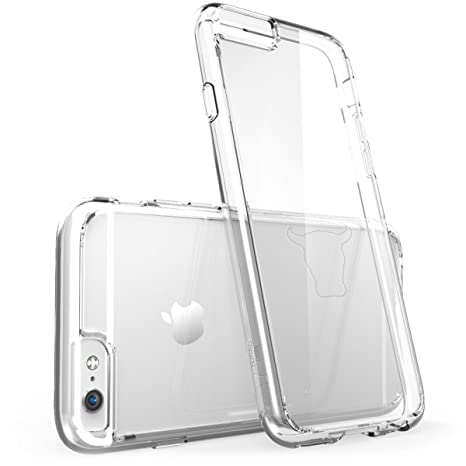 TORRO iPhone 6/6S Funda Transparente. Bumper Carcasa Claro ...
