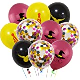 """40 PCS Harry Potter Pattern Balloons, 12"""" Latex Balloons Harry Potter Color Confetti Balloons Kit for Baby Birthday Party Baby Shower Harry Potter Theme Party Supplies"""
