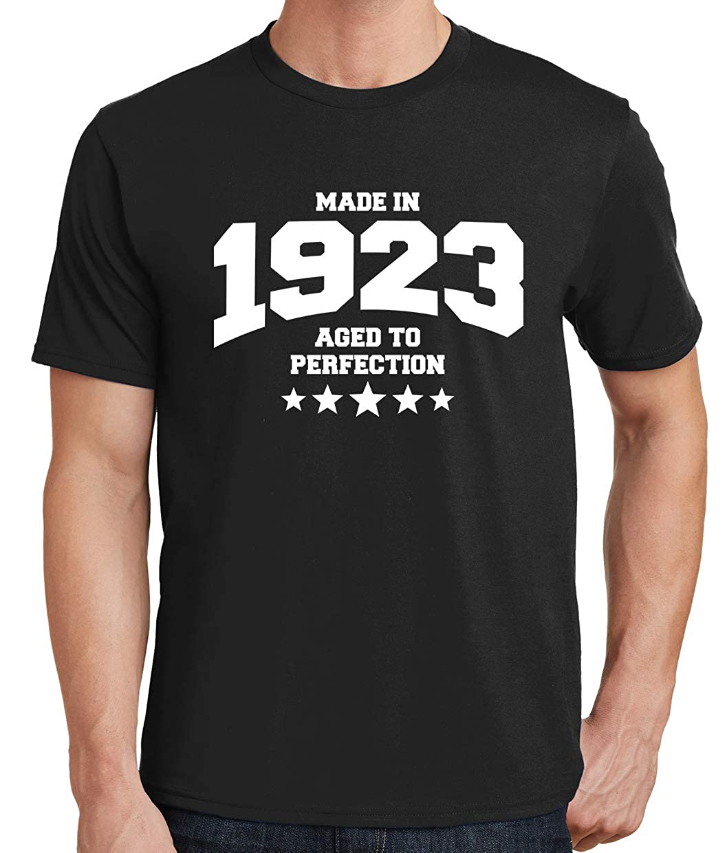 1923 T-Shirt Tenacitee Mens Athletic Aged to Perfection