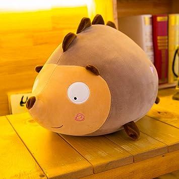 Amazon Com Mangorun Hedgehog Stuffed Animal Plush Toy 15 7 Brown