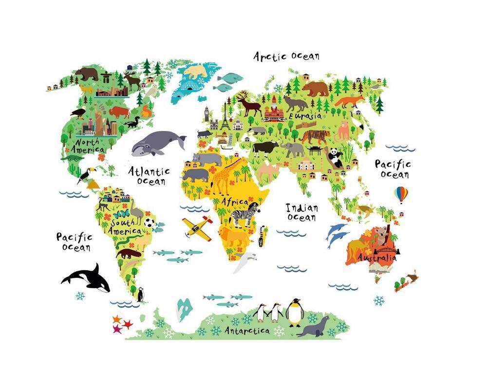 Australia Word Map.Amazon Com Large Mobile Cartoon Background Color English Word