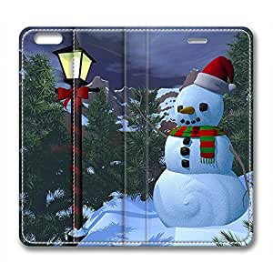 DIY Christmas Gift Leather Case for Iphone 6 Plus Beautiful