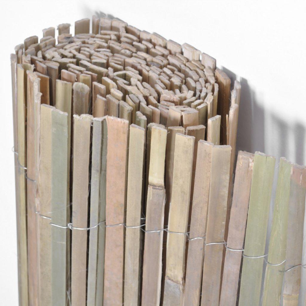 vidaXL Bambusmatte Bambus Sichtschutzmatte Sichtschutz Gartenmatte