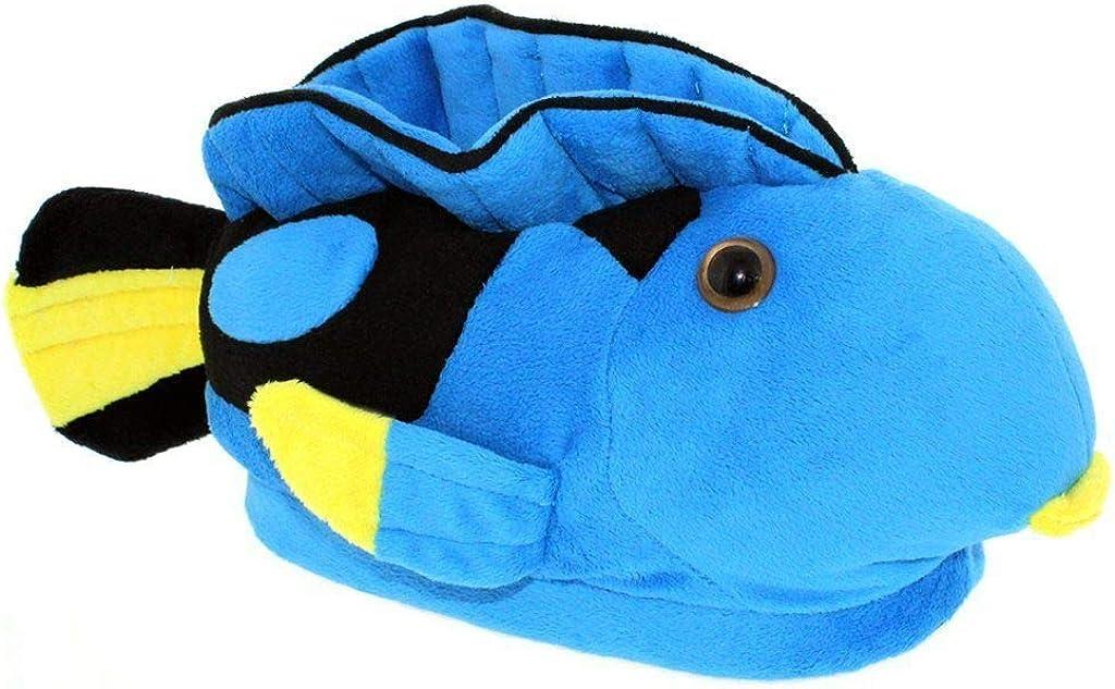 good service shopping latest fashion Amazon.com | 9092-2 - Blue Tang - Medium - Happy Feet Animal ...