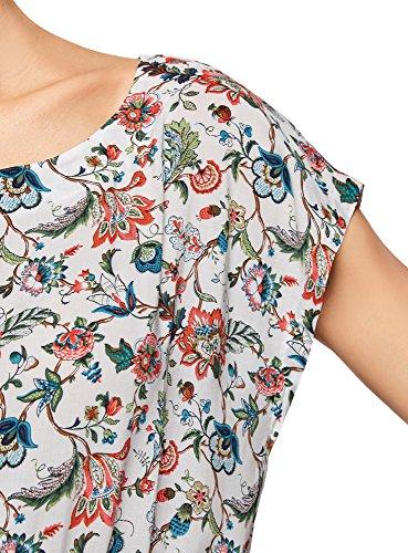 Femme en Imprime 4562f oodji Multicolore Ultra Viscose Blouse gnUxcWapf6