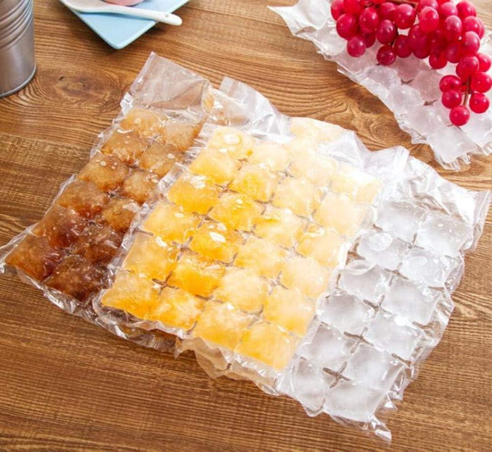 Hpybest Lot de 10 sachets de gla/çons jetables en Plastique avec Fermeture Automatique