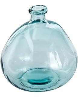 Mud Pie 4735006L Nest Large Recycled Spanish Glass Bubble Shape Vase 9