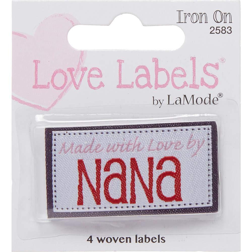 Grandma Loves Me Blumenthal Lansing Iron-On Lovelabels Chipboard