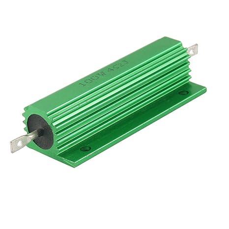 4 Ohm 4R ACAMPTAR Gold Aluminum Clad Power Resistor Resistance 100W