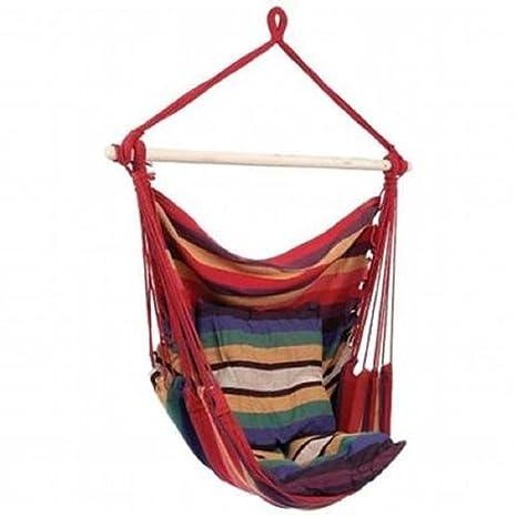Amazon Com Suesport Hanging Rope Chair Swing Hanging Hammock