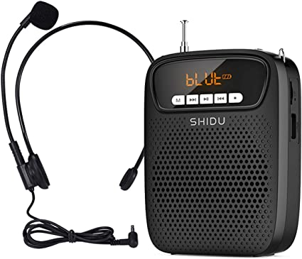 Portable Voice Amplifier Loudspeaker PA Microphone For Teacher Speech Tour Guide