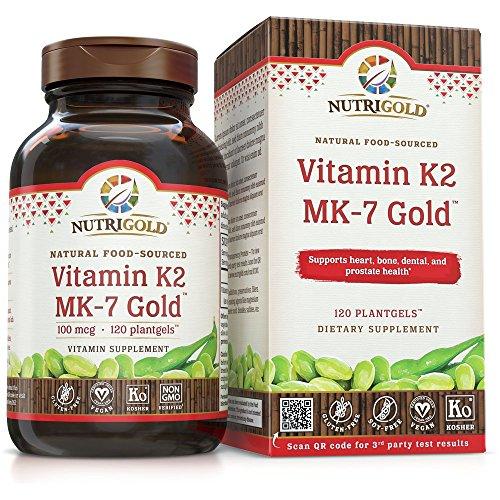 NutriGold Vitamin K2 Food Sourced MK 7 product image