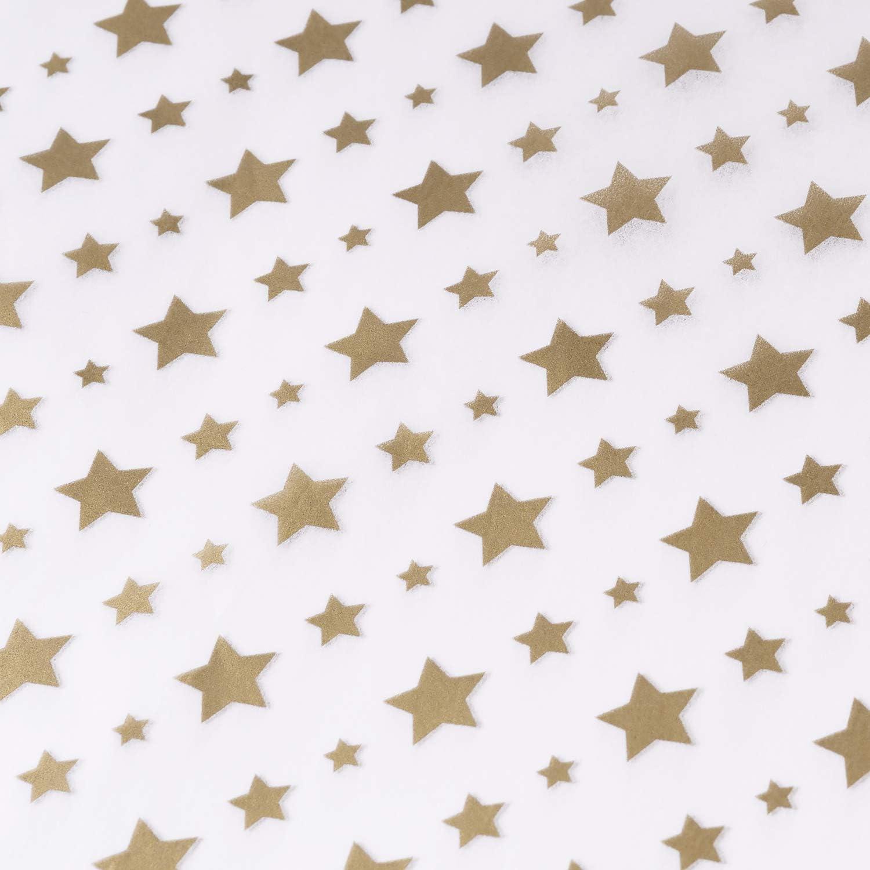 25 Blatt Metallic Gold Streifen Print Seidenpapier f/ür Heimarbeit Bastelarbeit Geschenkverpackung RUSPEPA Geschenkpapier Seidenpapier 50 X 70 CM