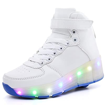 coloing Kids Shoes LED Light up Boys Girls Kids Dance Sneakers Trainers Causal Skate Shoes Kids Gift
