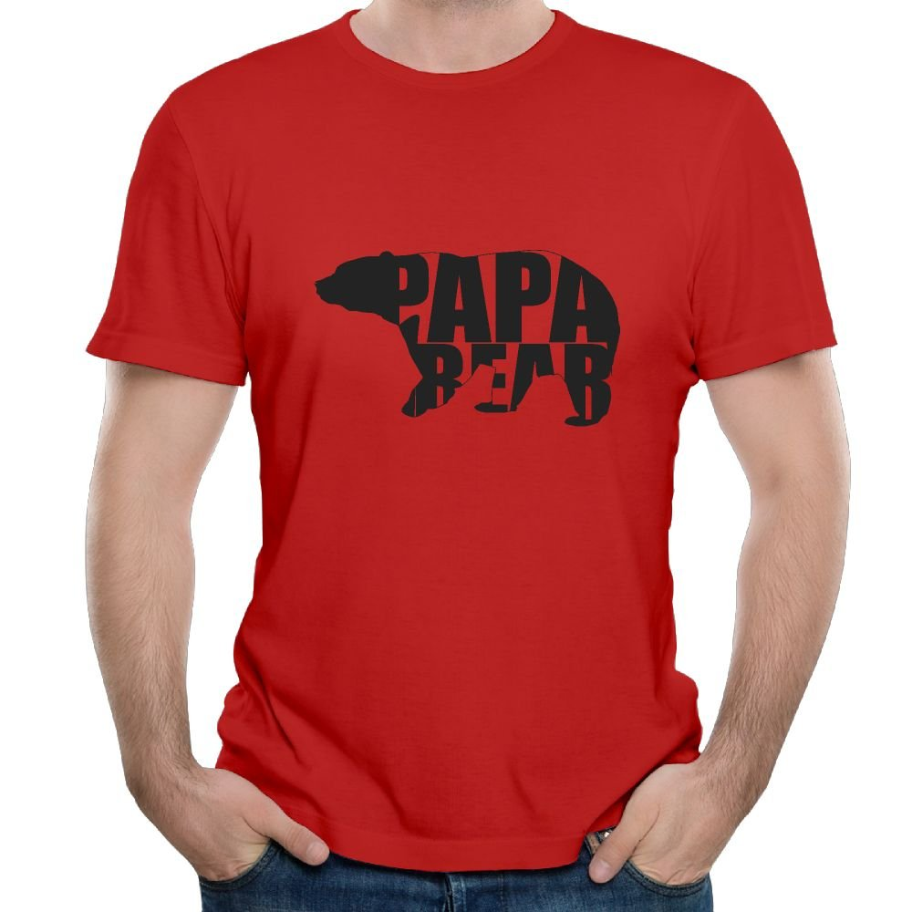 Jimhappy Papa Bear Dad Design Summer Lightweight 3d Printed Tee S 6 Shirts