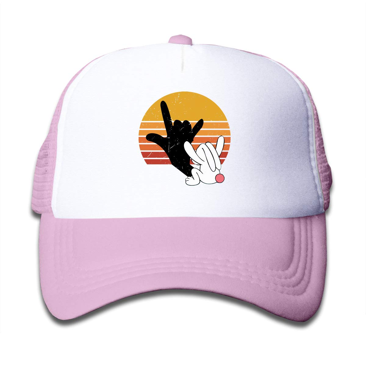 Love Rabbit Children Sun Headwear Black