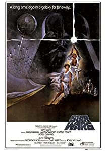 "Star Wars - Style A Movie Poster, Size 24"" X 36"""