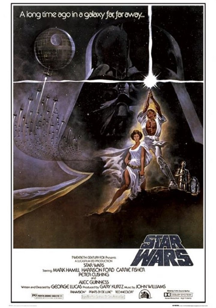 """Star Wars - Style A Movie Poster, Size 24"""" X 36"""""""
