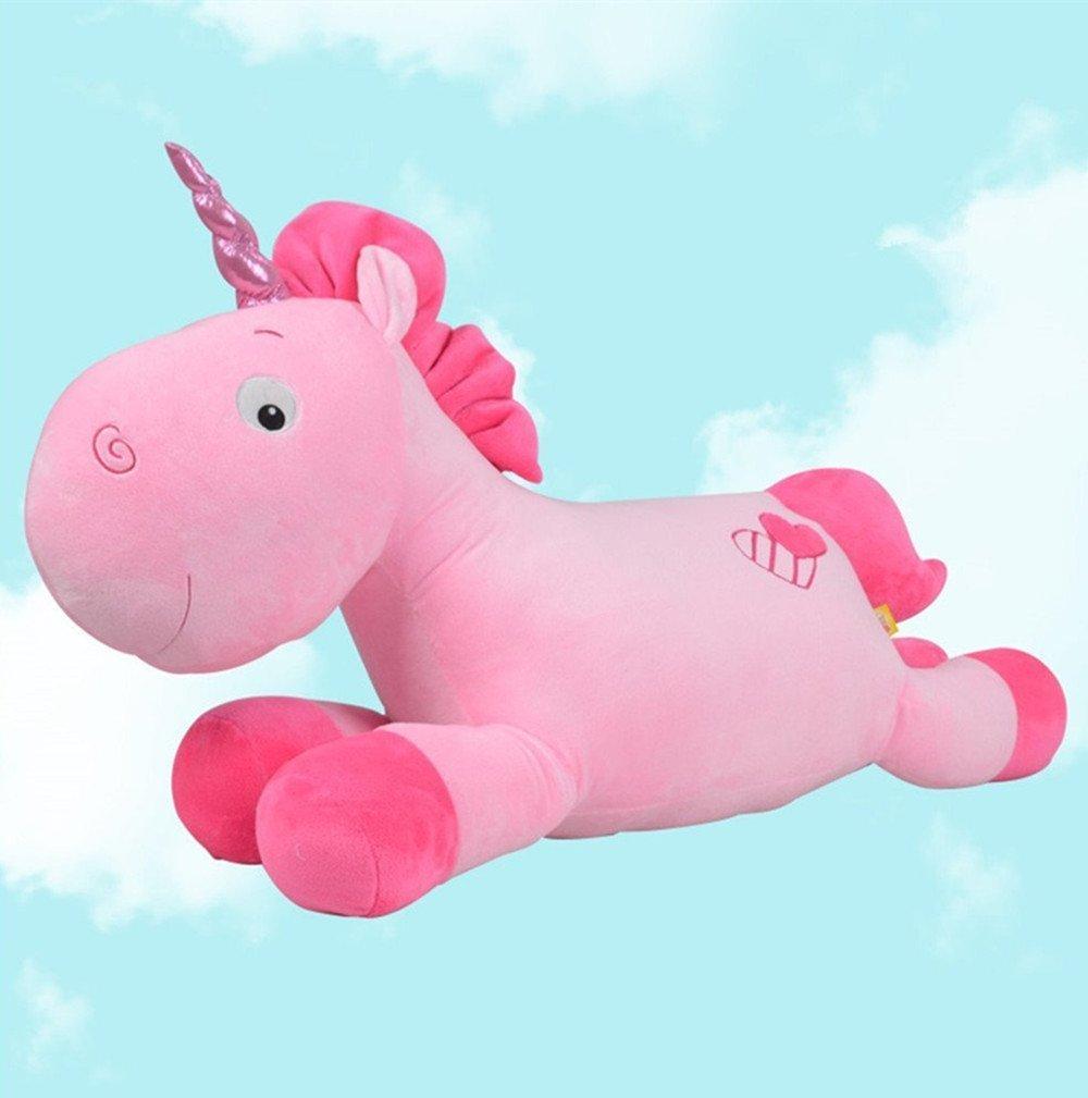 Missley Unicornio de peluche suave y suave de unicornio (20in/50CM, Pink): Amazon.es: Bebé