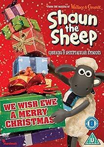 Shaun the Sheep - We Wish Ewe a Merry Christmas DVD: Amazon.co.uk ...