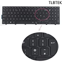 TLBTEK UK Layout Laptop Replacement Keyboard for Dell Inspiron 15-3000 15-5000 15-3541 15-3542 15-3552 15-3555 15-3565 15-3567 15-3568 15-5000 15-5542 15-5543 15-5551 15-5552 15-5555
