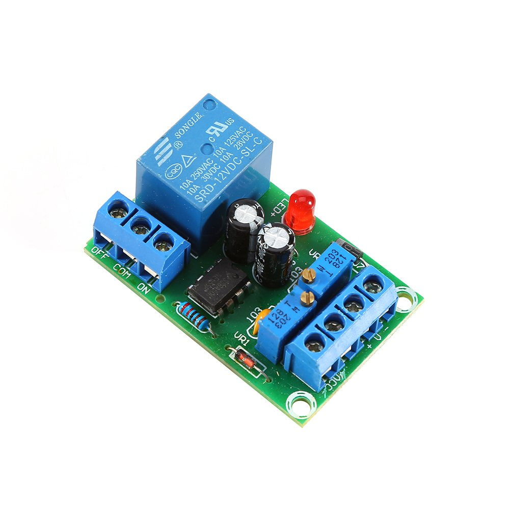 12v Battery Charging Controller Module Protection Board Simple Constant Current Automobile Charger Circuit Using Ic Lm Automatic Stop Industrial Scientific