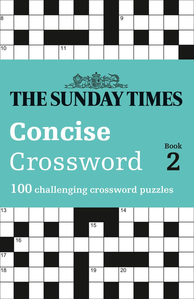 The Sunday Times Concise Crossword Book 2 100 Challenging Crossword Puzzles Times Mind Games Amazon Co Uk The Times Mind Games Biddlecombe Peter 9780008343743 Books