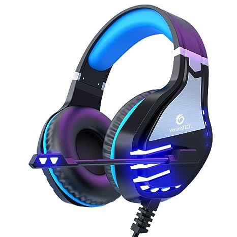 Amazon.com: VersionTECH. Auriculares estéreo para ...