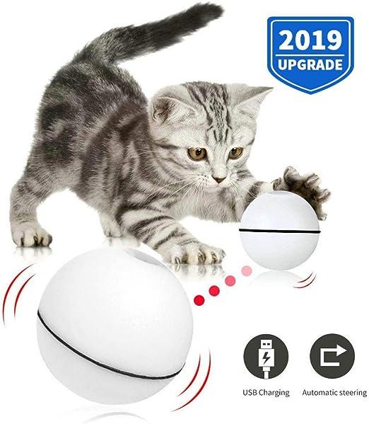 OOOUSE Juguete de Bola de Gato Interactivo Inteligente, Bola de ...