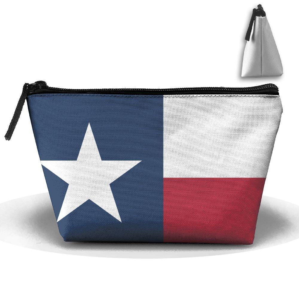 Women Girl Texas State Flag Toiletry Bag   Makeup Organizer   Cosmetic Bag    Portable Travel f0e81ecace55c