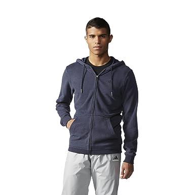 adidas Originals Mens Mens Premium Essentials Hoodie in Navy
