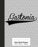 Dot Grid Paper: GASTONIA Notebook (Weezag Dot Grid Paper Notebook)