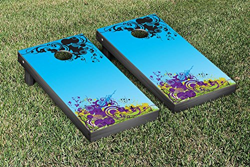 Abstract Themed Cornhole Game Set by Victory Tailgate