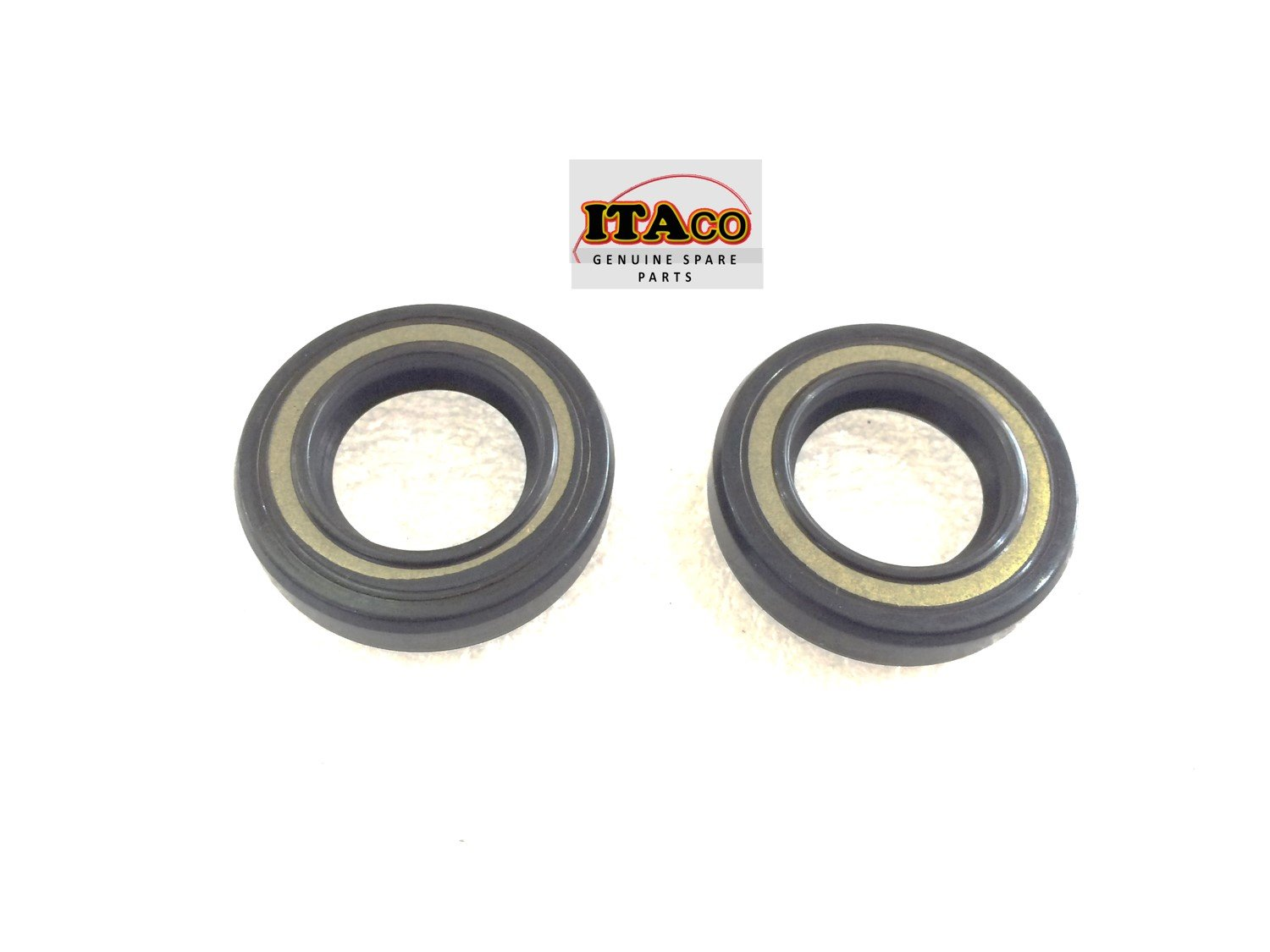 2X OIL SEAL SEALS S-TYPE 93101-17054 -00 fit Yamaha Outboard Lower Casing 8HP 9.9HP 15HP 20HP