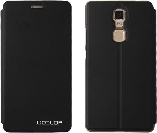 Guran? Funda de Cuero para Cubot Cheetah (1 Generation) Smartphone con Función de Soporte Flip Case Cover-Negro…: Amazon.es: Electrónica